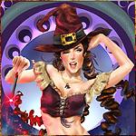 Веселая ведьмочка