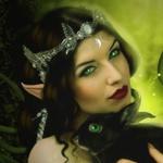 Эльфийка и черный кролик
