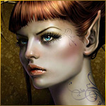 Рыжая эльфийка