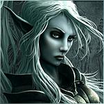 Темная эльфийка