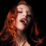 Рыжая вампирша
