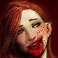 Опьяневшая от крови вампирша