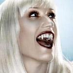 Блондинка вампир