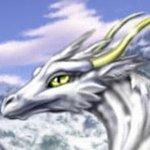 Дракон белый
