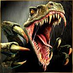 Зубастый зеленый дракон