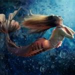 Счастливая русалка