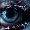 Иней на ресницах, голубой глаз