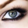 Красивый серый глаз