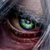 Мужской зеленый глаз