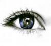 Черные глаза девушки
