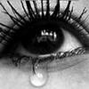 Слезки в грустных глазах