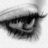 Ава грустные глаза