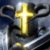 Рогатый шлем рыцаря