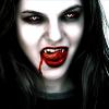 Вампир пробует клыки