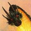 Зеленый дракон в атаке