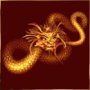 Дракон с гривой