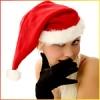 Снегурочка и черные перчатки