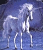 Единорог белый