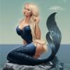 Кокетливая русалка