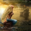 Русалка ждет корабль
